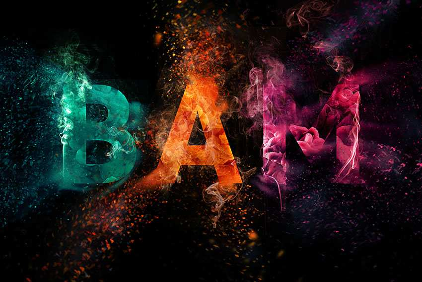 Colorful-Explosion-Text-Effect