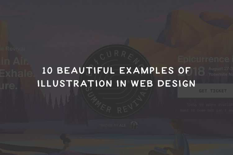 10 Beautiful Examples of Illustration in Web Design