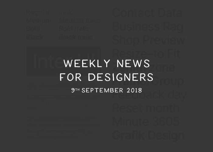Weekly News for Designers № 453