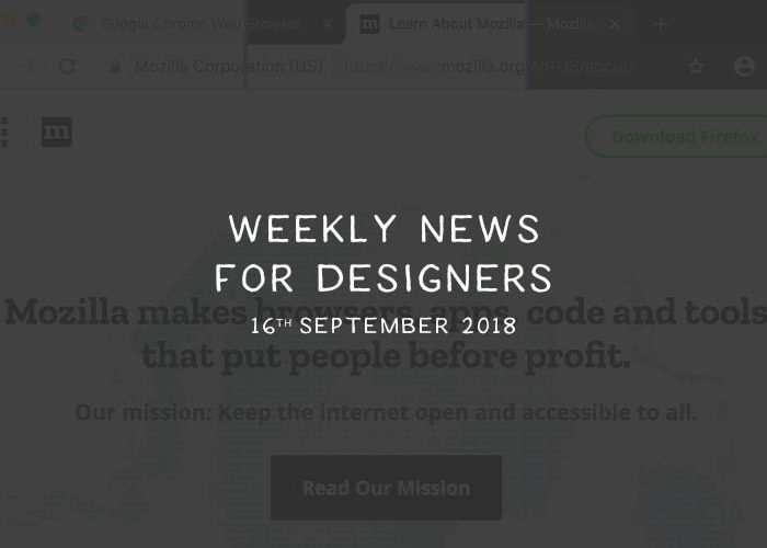 Weekly News for Designers № 454