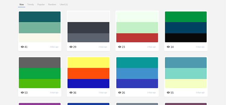 Trendy Palettes
