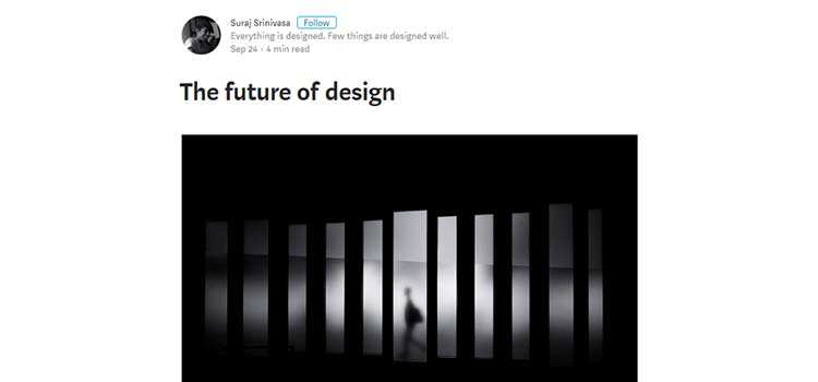 The future of design