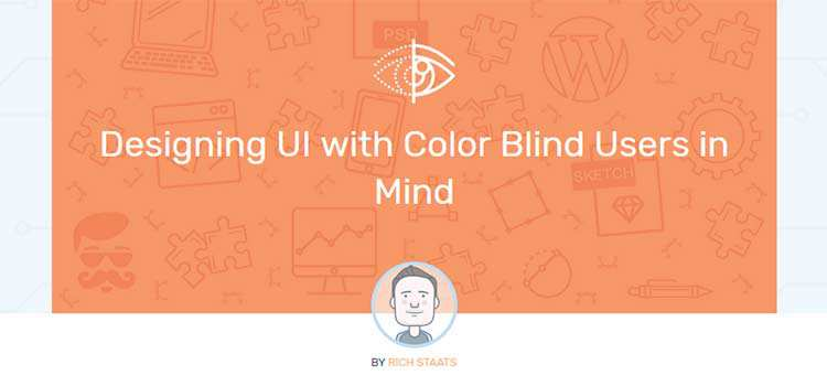 Designing UI with Color Blind Users in Mind