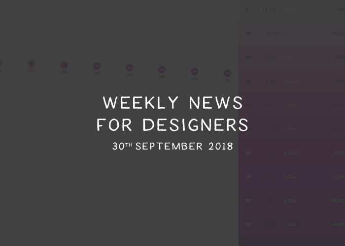 Weekly News for Designers № 456