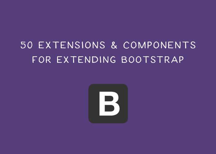45 Free Plugins & Components for Extending Bootstrap