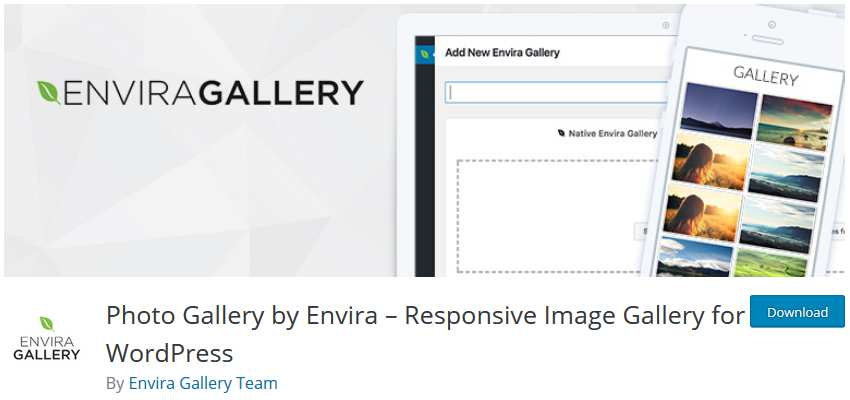 Envira Gallery wordpress php