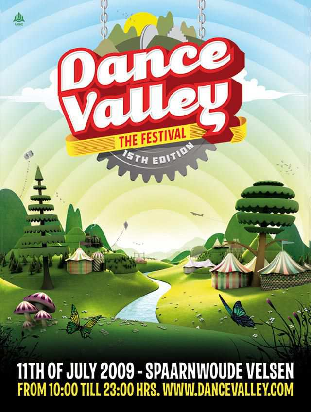 Dance Valley Flyer Flyer
