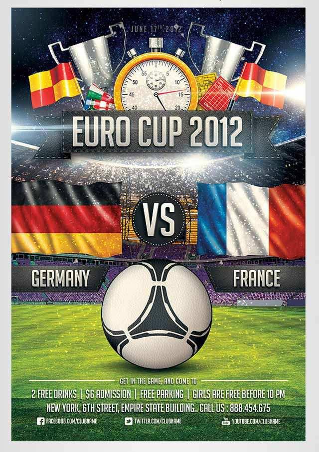 Euro Soccer Flyer Flyer