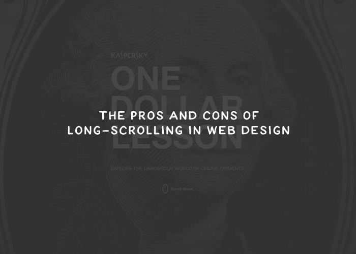 The Pros and Cons of Long-Scrolling in Web Design