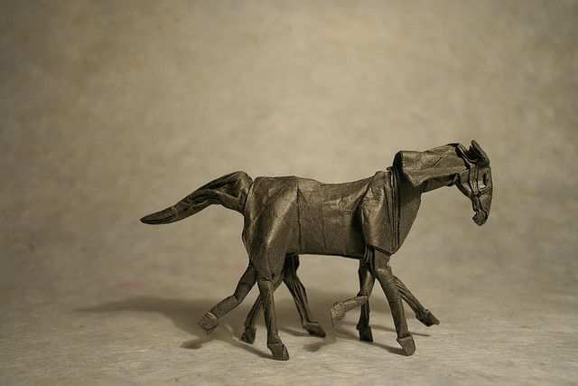 papercraft inspiration example Sleipnir