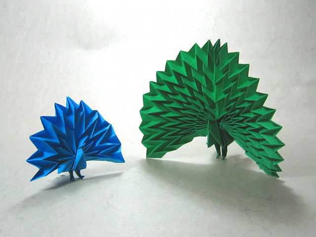 papercraft inspiration example Origami Paper Art