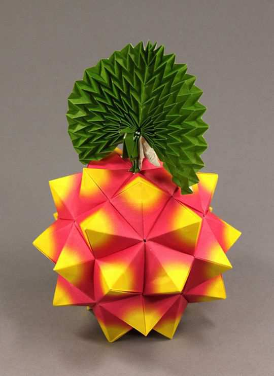 papercraft inspiration example Compound of Five Octahedra & Peacock