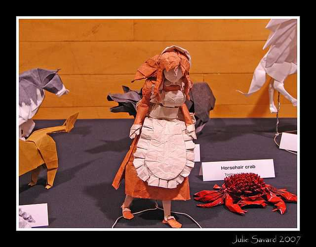 papercraft inspiration example Expo inconnu /Unknown