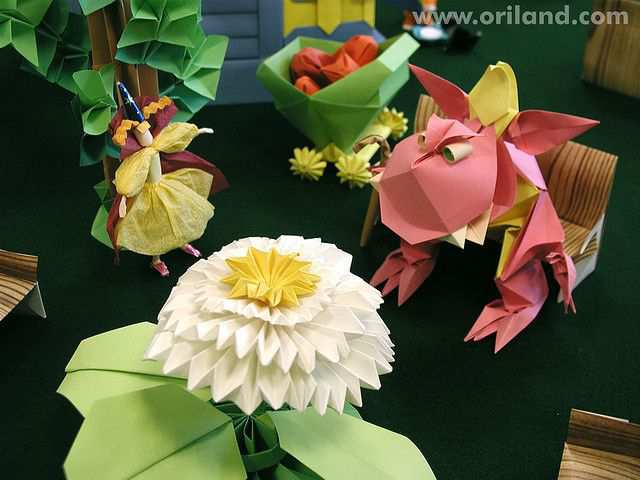papercraft inspiration example Goblington Kingdom: Orilanders in the Garden of Strawberry Farms