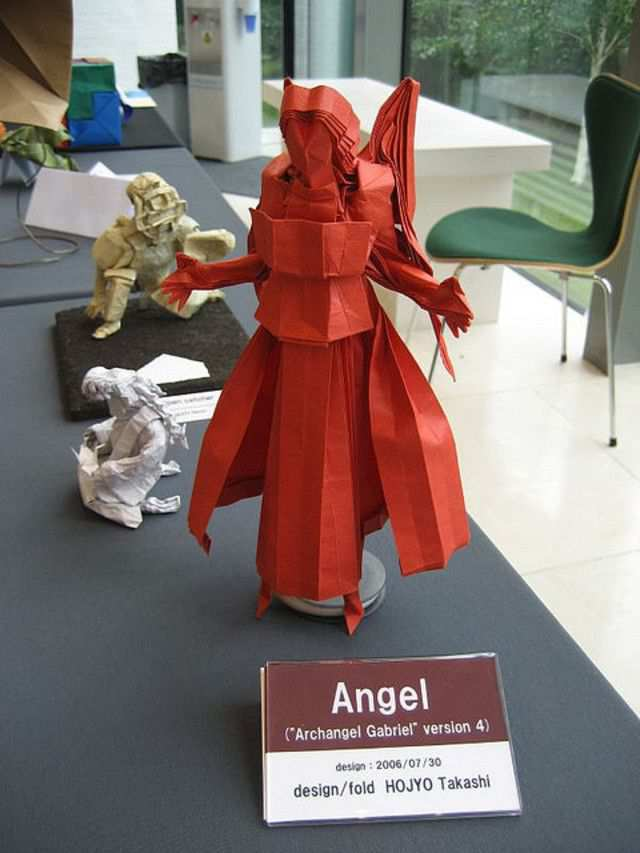 papercraft inspiration example BOS 40th - Exhibition