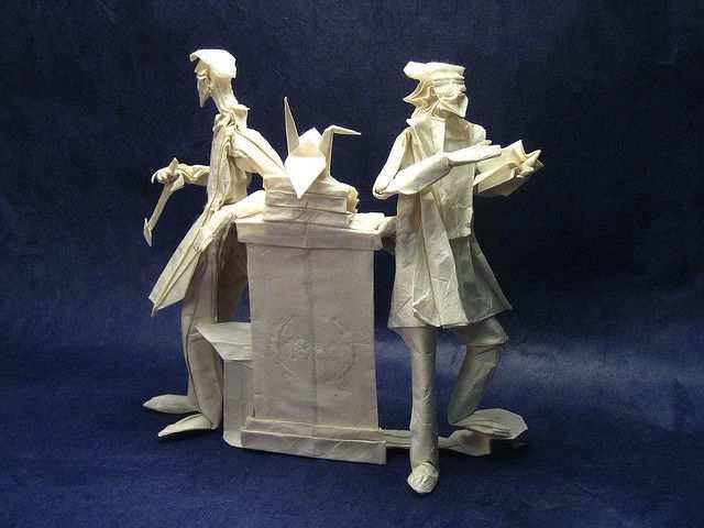 papercraft inspiration example Mens et Manus II Origami