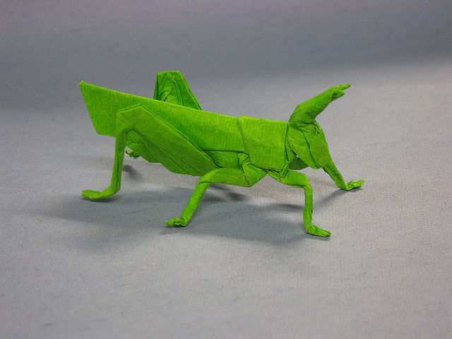 papercraft inspiration example Grasshopper