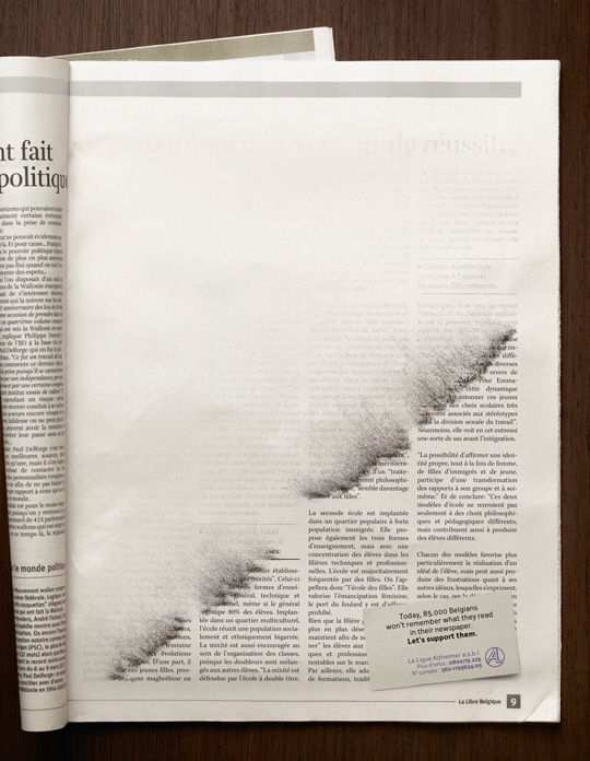 Print Ad - Erased News