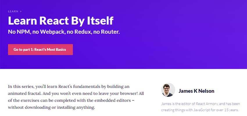 Learn React By Itself