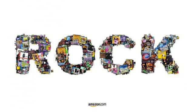 The Amazon: Rock as an example of inspirational typography example in print ads