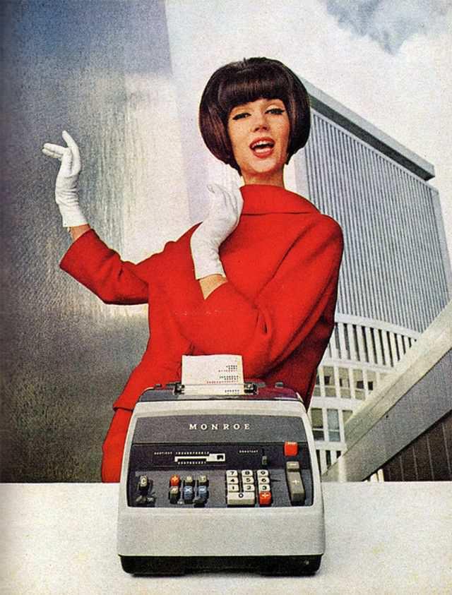 vintage poster advertisment design Monroe (USA)