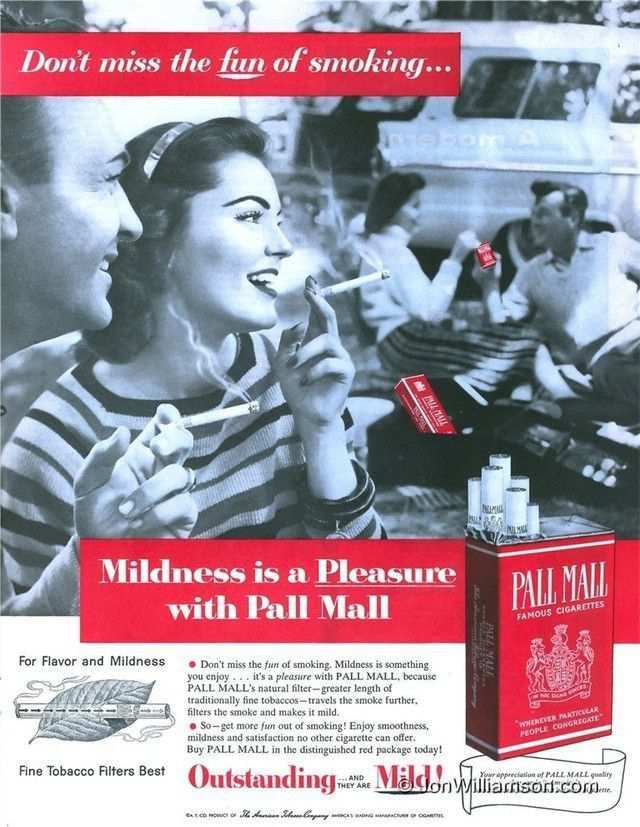vintage poster advertisment design Pall Mall