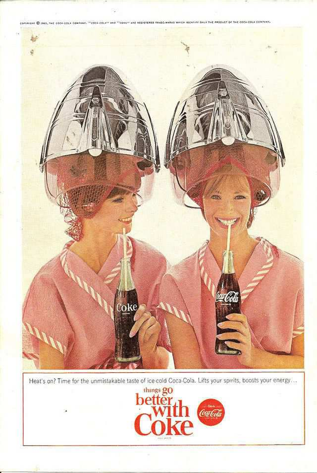vintage poster advertisment design Coke