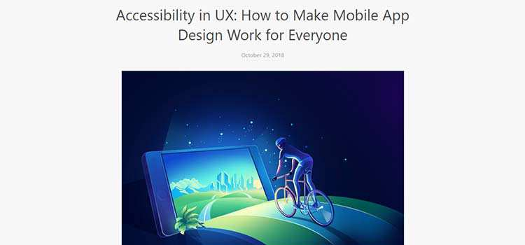 Accessibility in UX: How to Make Mobile App Design Work for Everyone