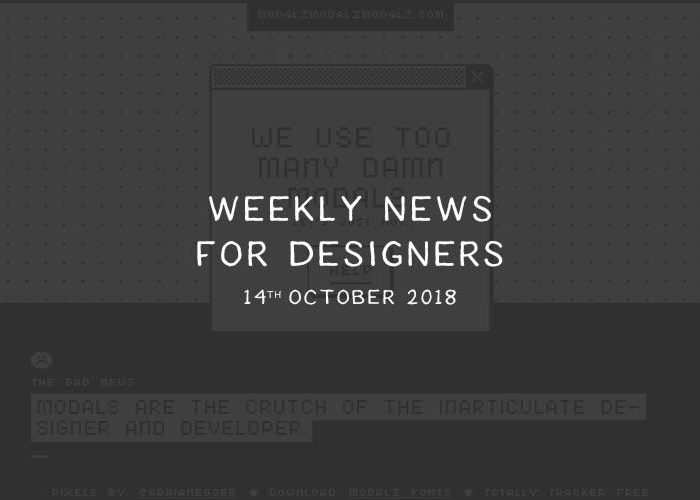Weekly News for Designers № 458