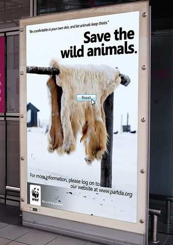 Inspiring and Creative Ads from the WWF
