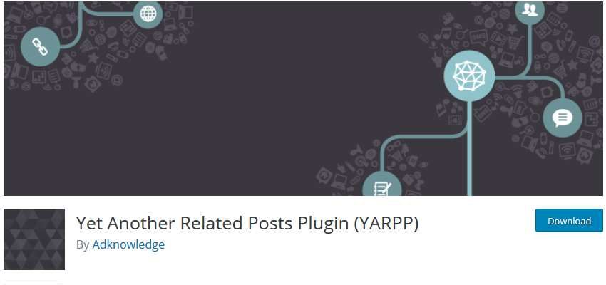 Yet Another Related Posts Plugin wordpress php