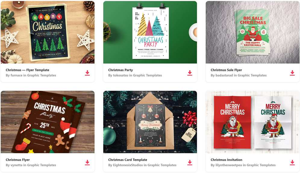 Christmas Resources for Designers