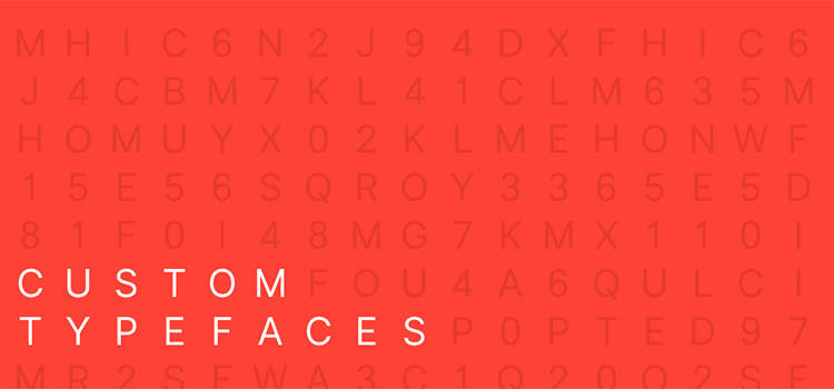 Why are tech companies making custom typefaces?