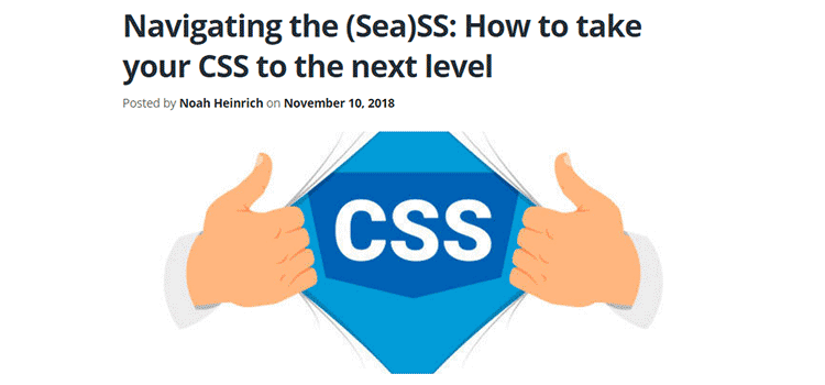 Navigating the (Sea)SS: How to take your CSS to the next level
