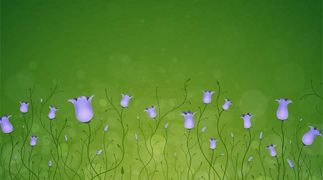 Spring Desktop Wallpaper Bluebells