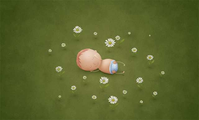 Spring Desktop Wallpaper Newborn
