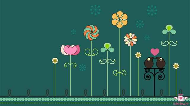 Spring Desktop Wallpaper Spring garden wallpaper