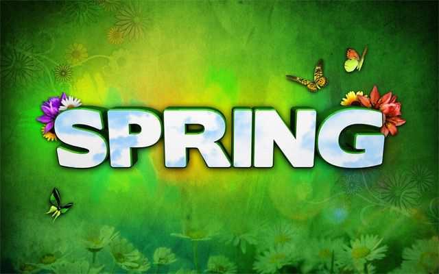 Spring Desktop Wallpaper Spring Wallpaper