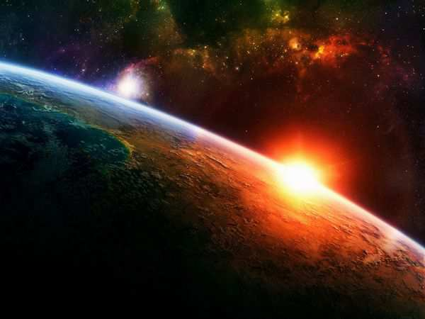 space wallpaper A New Dawn