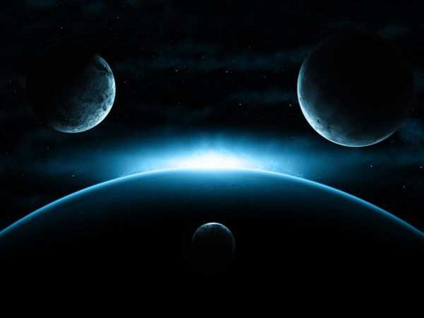 space wallpaper Cosmic Sunrise