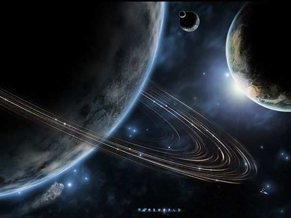 space wallpaper Homeworld