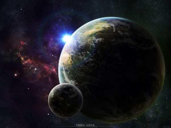 space wallpaper Terra Nova