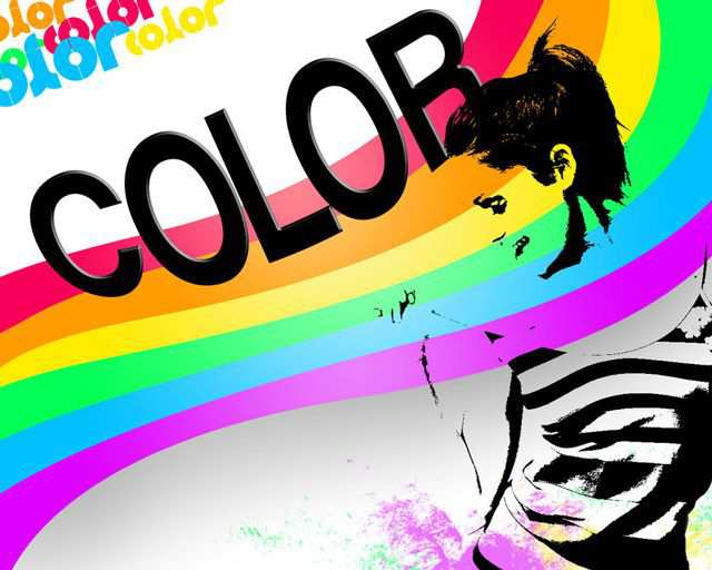 Color Spectrum Bright Desktop Wallpaper Spectrum by Breanda Panda