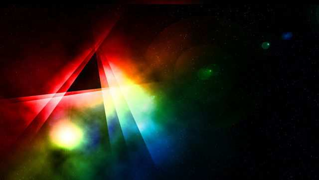 Color Spectrum Bright Desktop Wallpaper Night's Nebula