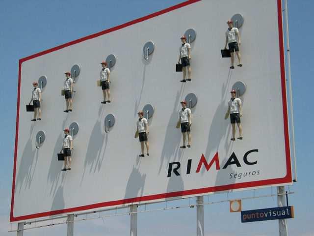 creative advertising billboard design  Rimac