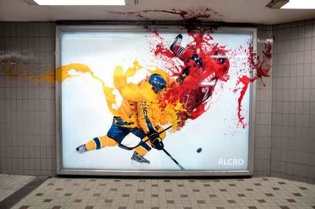 creative billboard Colour Tackle