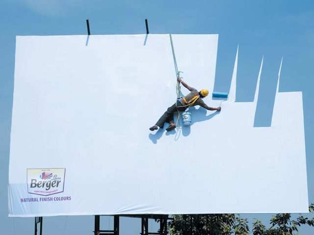creative advertising Berger Sky