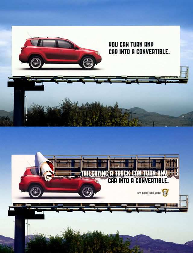 creative advertising Dont Lose Your Head