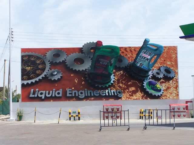 creative advertising Castrol Liquid Engineering