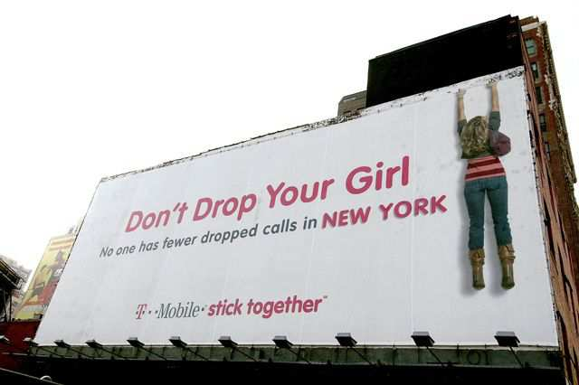 creative advertising Dont Drop Your Girl